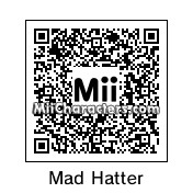 QR Code for The Mad Hatter by Korey
