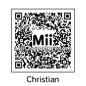 QR Code for Christian by Tocci