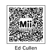 QR Code for Edward Cullen by Tocci