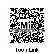 QR Code for Toon Link by Rabbott