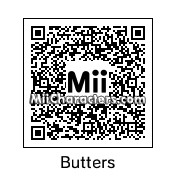 "QR Code for Leopold ""Butters"" Stotch by Gooby"