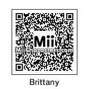 QR Code for Brittany Miller by Toon&Anime