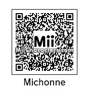 QR Code for Michonne by Mordecai