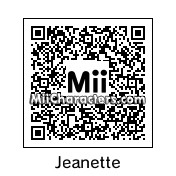 QR Code for Jeanette Miller by Toon and Anime