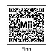 QR Code for Finn by Toon and Anime