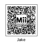 QR Code for Jake by Toon and Anime