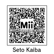 QR Code for Seto Kaiba by Ness and Sonic