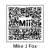 QR Code for Michael J. Fox by mr.dubbs