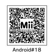 QR Code for Android 18 by Mahmus