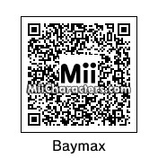 QR Code for Baymax by Nessman25