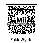 QR Code for Zakk Wylde by M0HAMUD