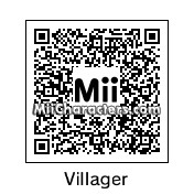 QR Code for Villager (male) by Digibutter