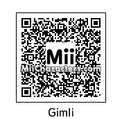 QR Code for Gimli by blk parade