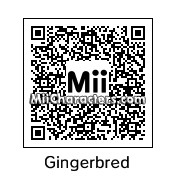 QR Code for Gingerbread Man by blk parade