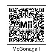 QR Code for Minerva McGonagall by Gina