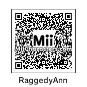 QR Code for Raggedy Ann by Gina