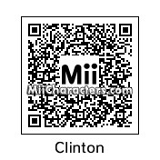 QR Code for Bill Clinton by Tocci