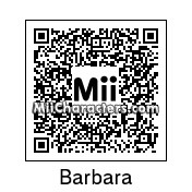 QR Code for Barbara the Barbarian by Retrotator