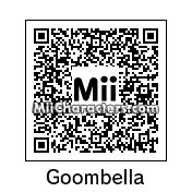 QR Code for Goombella by Retrotator
