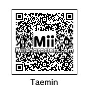 QR Code for Lee Taemin by Baekorn