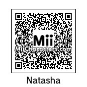 QR Code for Natasha by geek dash