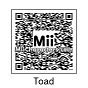 QR Code for Toad by Kookaman725