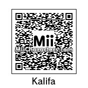 QR Code for Kalifa by Mordecai
