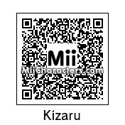 QR Code for Kizaru by Mordecai