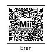 QR Code for Eren Jaeger by Mordecai