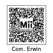 QR Code for Erwin Smith by Mordecai