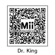 QR Code for Dr. Martin Luther King Jr. by Doodah