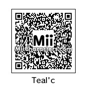 QR Code for Teal'c by Sherlock17