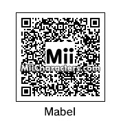 QR Code for Mabel Pines by Jahmocha