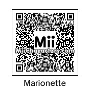 QR Code for Marionette by N Arwhal