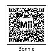 QR Code for Bonnie the Bunny by N Arwhal