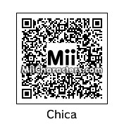 QR Code for Chica the Chicken by N Arwhal