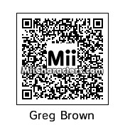 QR Code for Greg Brown by petrie