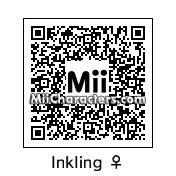 QR Code for Female Inkling by J1N2G