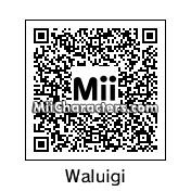 QR Code for Waluigi by Arie