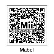 QR Code for Mabel Pines by Arie