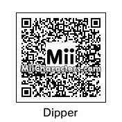 QR Code for Dipper Pines by Arie