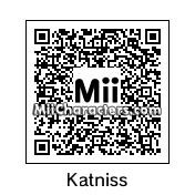 QR Code for Katniss Everdeen by Arie