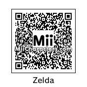 QR Code for Princess Zelda by Arie