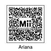QR Code for Ariana Grande by Arie