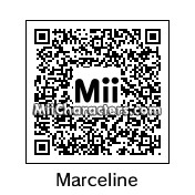QR Code for Marceline the Vampire Queen by Toon and Anime