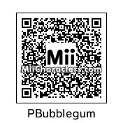 QR Code for Princess Bubblegum by Toon and Anime