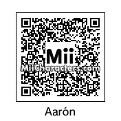 QR Code for Aaron Sanchez by Willsun