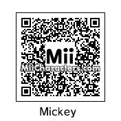 QR Code for Mickey Mouse by MiiMaster2005
