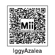 QR Code for Iggy Azalea by J1N2G