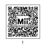 QR Code for Exclamation Point by N64 Dude